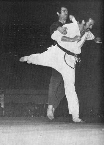 Roy Kurban at the International Karate Championships 1989